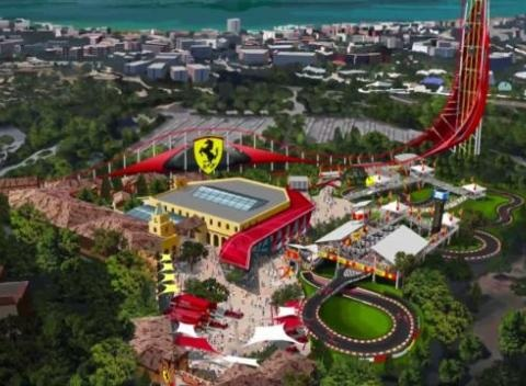 News video: Ferrari To Build First Hotel & Theme Park In Barcelona